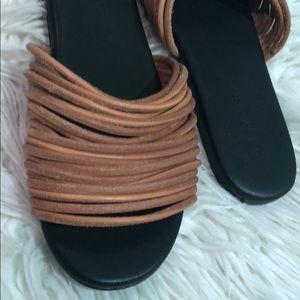 greycity Shoes - Grey city  Nikki corded slide